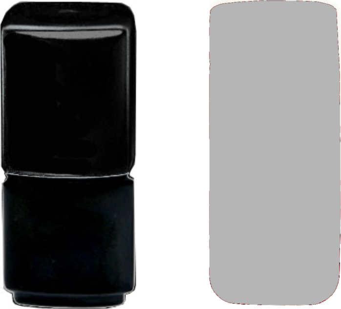 Soak off polish hellgrau 10ml, Gellack, Shel Lack, UV Lack
