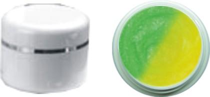 Thermo Gel Glitter Grün – Gelb 4ml