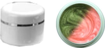 Thermo Gel Metallic green – rose' 4ml