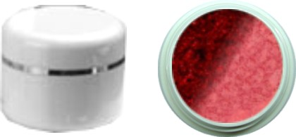 Thermo Gel Marron Glitter – Dark Red Glitter 4ml