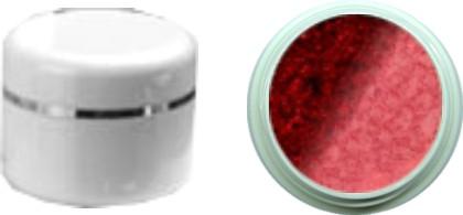 Thermo Gel Marron Glitter – Dark Red Glitter 4ml