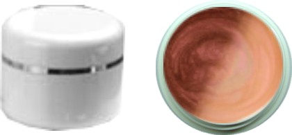 Thermo Gel Nougat Apricot Metallic 4ml