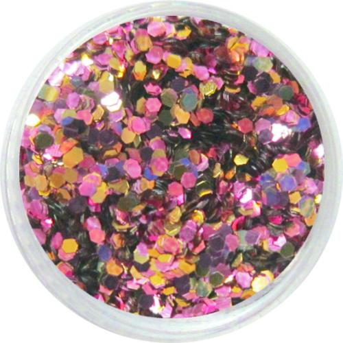 1308 – Pailetten Mix rosa gold