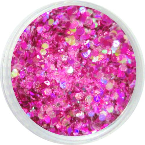 1310 – Pailetten Mix pink silber