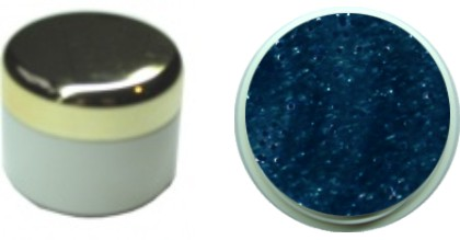Farbgel blaugrau metallic 4ml