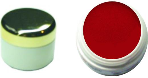 Farbgel Knallrot 4ml