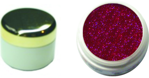 Farbgel pearl weinrot 4ml