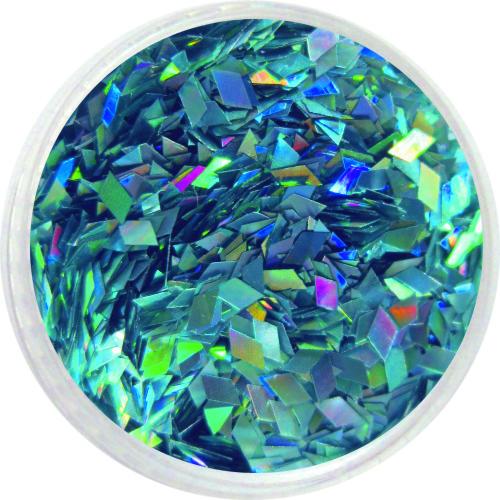 1607 – Pailetten Rhomben türkisblau