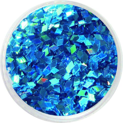 1608 – Pailetten Rhomben blau