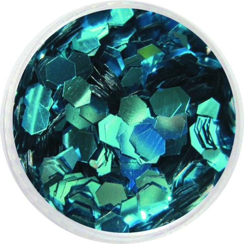 1609 – Pailetten groß türkisblau