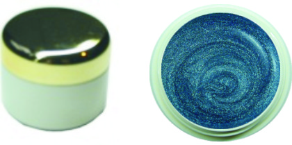 Farbgel Chromegloss Blue 4ml