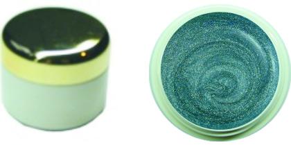 Farbgel chromegloss ocean 4ml