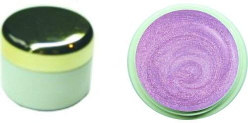 Farbgel chromegloss darkrose´ 4ml