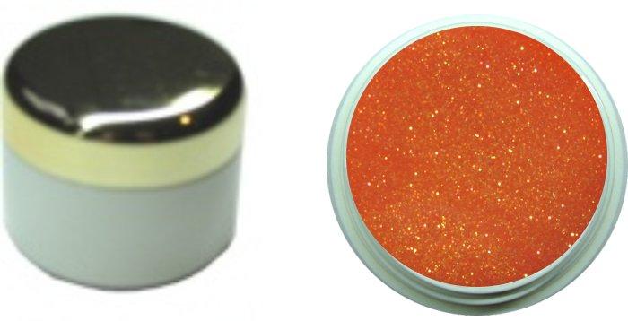 Glittergel orange 4ml