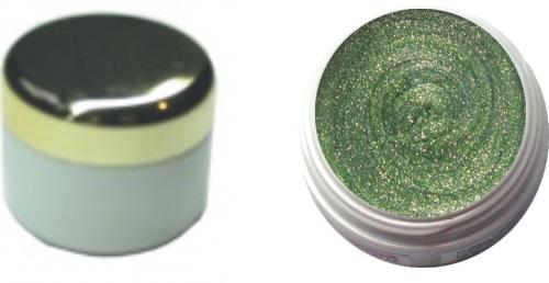 Farbgel chromegloss green 4ml
