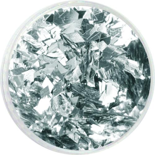 1910 – Pailetten Rhomben silber