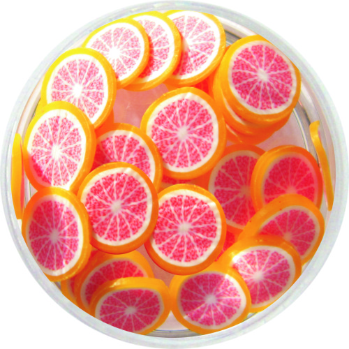 Fimo Grapefruit
