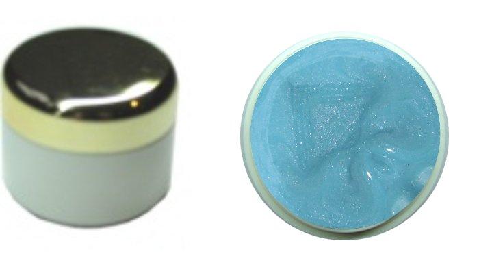 Farbgel pearl azur 4ml