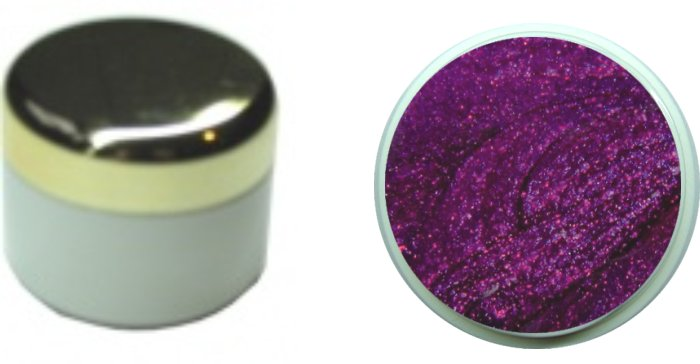 Farbgel glossy violett 4ml