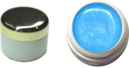 Farbgel ice blue metallic 4ml