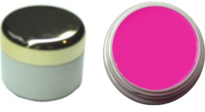 Farbgel leuchtend neon pink 4ml