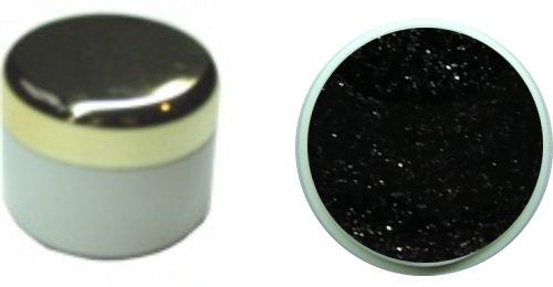 Glittergel schwarz 4ml