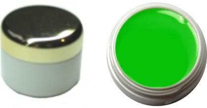 Farbgel leuchtend neon grün 4ml