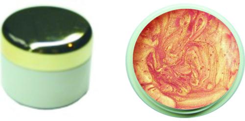 Farbgel apricot metallic 4ml