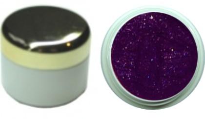 Farbgel metallic aubergine 4ml