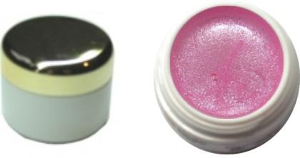 Farbgel rose' metallic 4ml