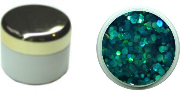 Effectgel Smaragdgrün 4ml