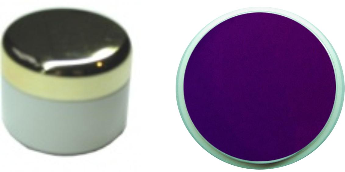 Farbgel dunkellila 4ml