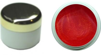 Farbgel rot metallic 4ml