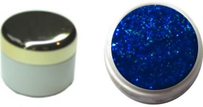 Glitzerfarbgel blau 4ml