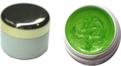Farbgel hellgrün metallic 4ml