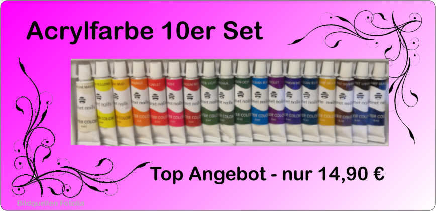 Acrylfarbe 18er Set