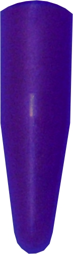 Acrylfarbe metallic dunkellila