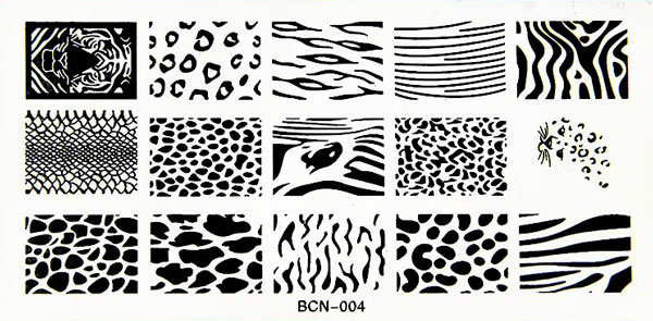 Stamping Schablone BNC04