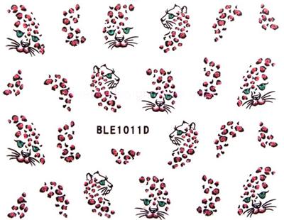 Selbstklebende Sticker animal BLE-1011D