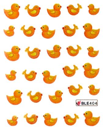 Wasserlösliche Sticker Ostern BLE-404