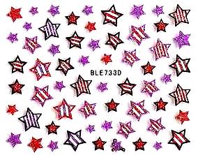 Selbstklebende Sticker Sterne BLE-733D