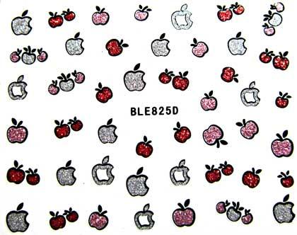 Selbstklebende Sticker Äpfel BLE-825D