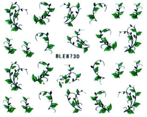 Selbklebende Sticker Blätterranken BLE-873D