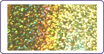 Transferfolie Gold dots
