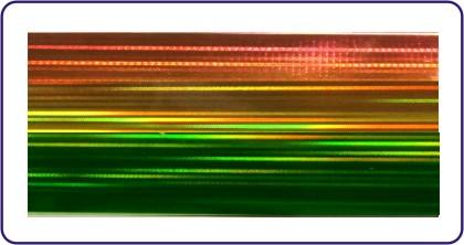 Transferfolie green rainbow