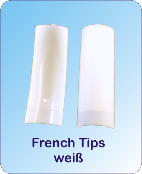Tip Box 100er French weiß
