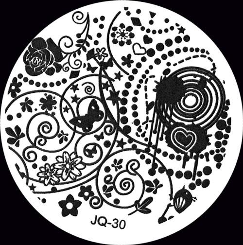 Stamping Schablone JQ-30