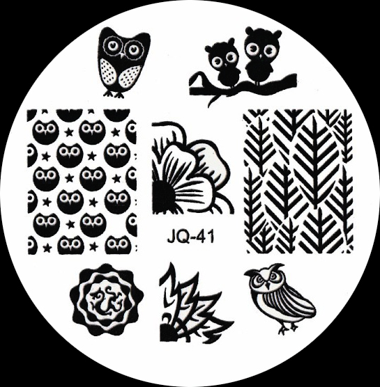 Stamping Schablone JQ-41