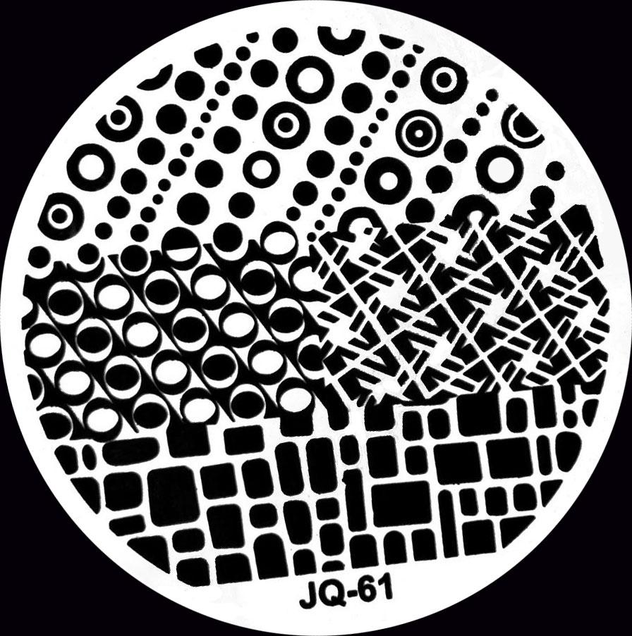 Stamping Schablone JQ-61