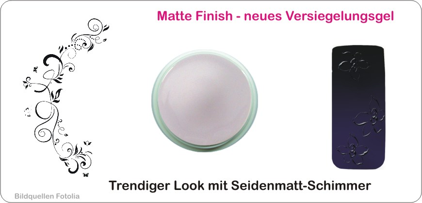 Matte Finish mit Tip